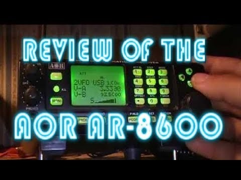 AOR AR5001D / LW 0,05 - 0,499 Mhz - YouTube