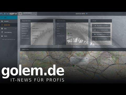 Spionage-Malware Flexispy ausprobiert - YouTube