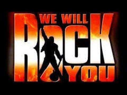 Lirik Lagu Five,Queen - We Will Rock You