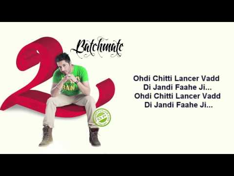Lancer Jassi Gill with lyrics HD Bachmate 2 [FULL SONG]