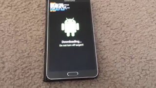 Galaxy note 3 How to enter/exit  Download mode
