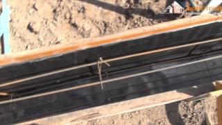 Ленточный фундамент- подготовка армирования,выставление опалубки  ленточного фундамента(Композиция