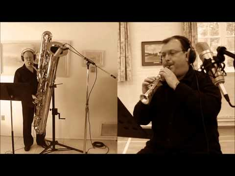 Contrabass and Soprillo - Sax Duet