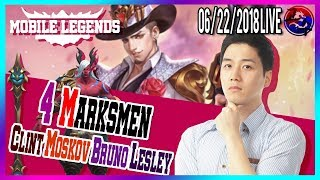 [ENG/한국어] To Be Best Marksman Mobile Legends North America Marksman Player