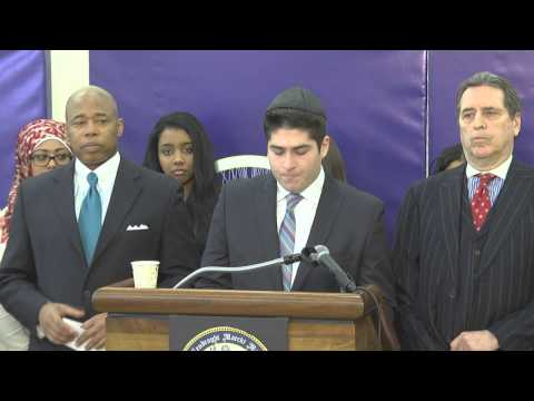 One Brooklyn-- Press Conference to Announce Police Community Relations Town Hall