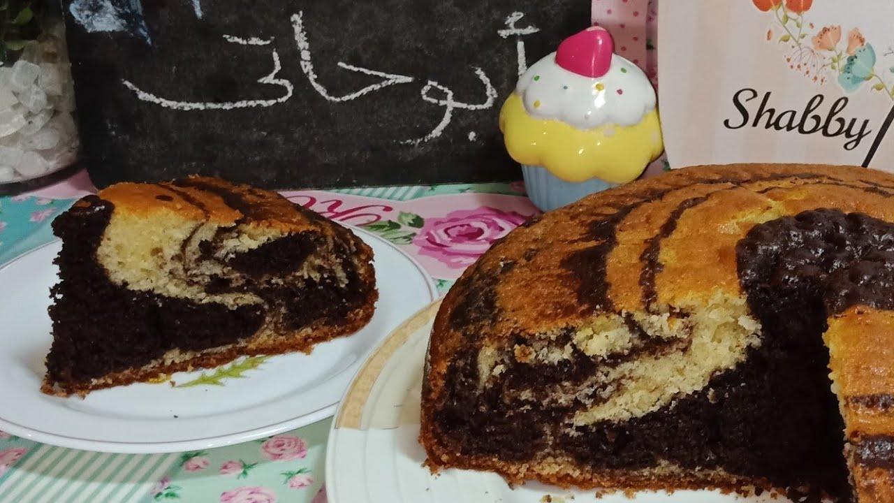 كيك التايجر الهش جدا Tiger Cake فاطمه ابو حاتي Youtube