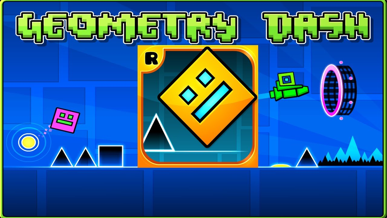 Geometry Dash - The Impossible Game! - YouTube