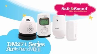 VTech DM271 Series Audio Baby Monitor