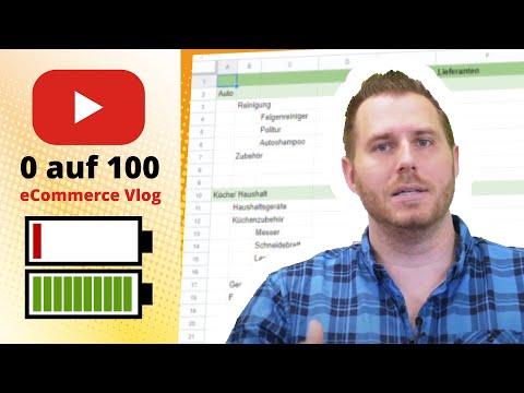 tricoma Vlog 0-100 #12: Shopkategoriestruktur, Marketing und Lieferantenplanung - eCommerce