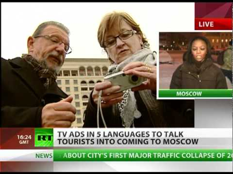 TV ads to lure tourists into Moscow