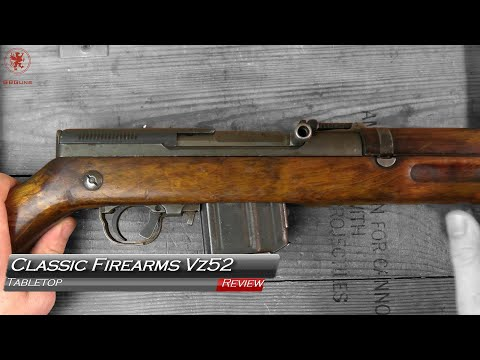 Classic Firearms Vz 52 Tabletop Review And Field Strip