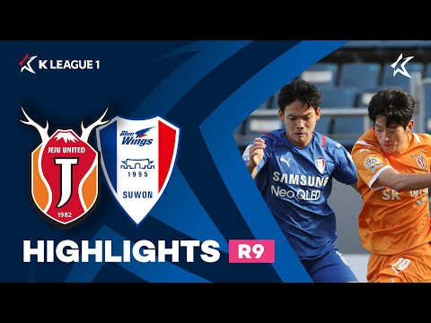 Jeju Utd Suwon Bluewings Goals And Highlights