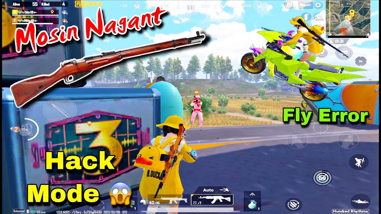 New Gun: Mosin Nagant + Hack Mode + Fly Error   Pubg Pubg Mobile