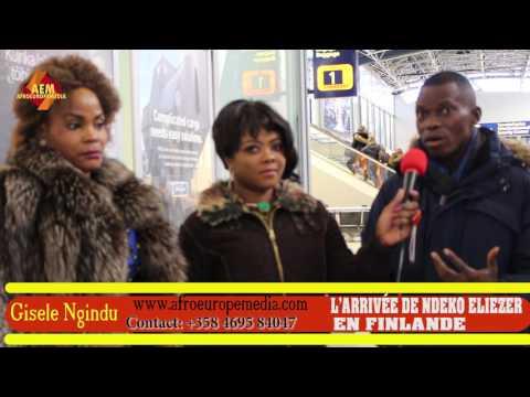 AFROEUROPEMEDIA: ARIVEE DE NDEKO ELIEZER EN FINLANDE