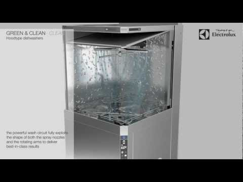 Electrolux green&clean Hood Type dishwasher