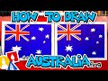 How To Draw The Flag Of Australia