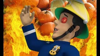 Fireman Sam US 🚒 The Flaming Pumpkins | Fire Rescue | Best Rescue Compilation 🔥Kids Movie