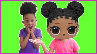We Turned Into LOL Surprise dolls | Pretend Play