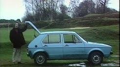 Volkswagen Golf Mk1 | Retro Car Review | German Car | Drive in | 1974