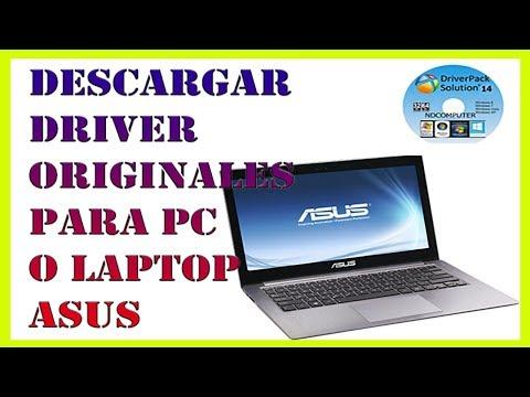 Descarga Driver Originales para PC o Laptop ASUS - Controladores ASUS