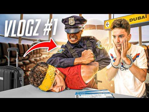 Download LA POLICE NOUS ARRÊTE À L'AÉROPORT 👨🏻✈️ - VLOGZ #1
