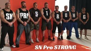 """SN Pro """"STRONG"""" - Бадюк, Кокляев, Сарычев, Цыпленков, Денисов,  Яшанькин, Клоков, Тронов"""