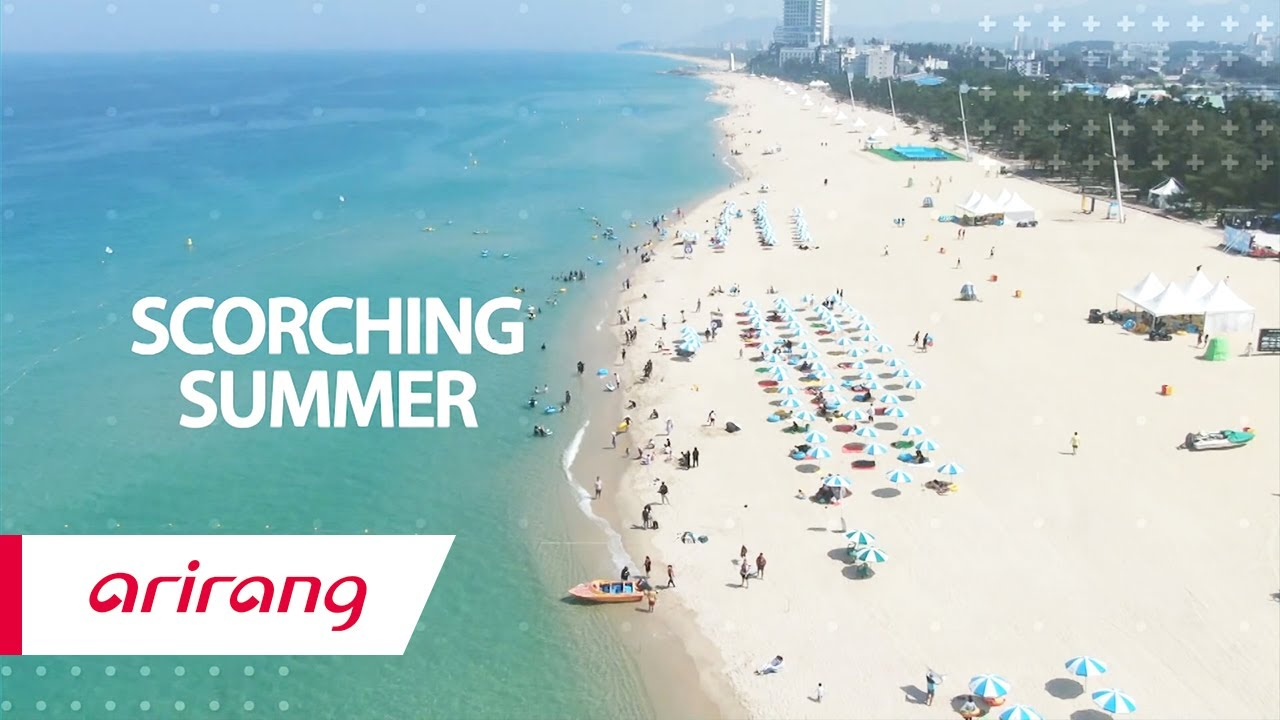[Arirang TV] Practice social distancing at the beach to keep everyone safe