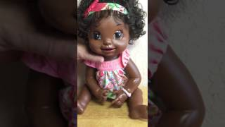 Baby Alive Learns to Potty Doll 2007 African American Soft Face