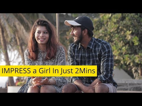 How To IMPRESS A Girl With Cheesy Lines FT. AJ - UNCUT  | Prank In India | Oye It's Uncut