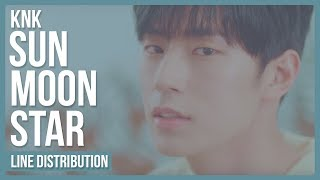 Download KNK - Sun.Moon.Star (해.달.별) Line Distribution (Color Coded) MP3 song and Music Video