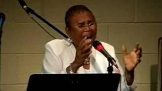 """Barbara Haynes sings """"My God Is Real"""""""
