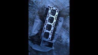 ЗМЗ 405 ГАЗЫ прокладка гбц, вскрытие ,причина
