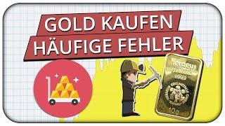 Gold kaufen? Das solltest du vorher wissen! Wo und wie es funktioniert! 💰
