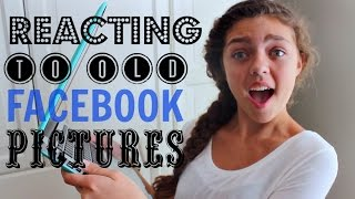 Reacting to Old Facebook Pictures! Thumbnail