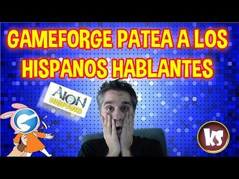 AION GAMEFORGE PATEA A LOS HISPANOS || Killersamus Games