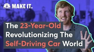 This Dropout Could Be Elon Musk and Tesla's Biggest Competition | CNBC Make It.