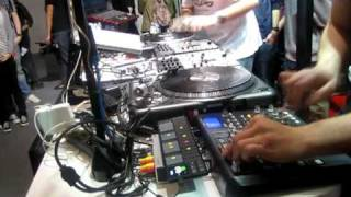 AKD & Koljeticut SHOWCASE @ Vestax Booth Musikmesse 2010 Part1