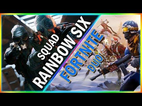 Rainbow Six Siege Squrd & Fortnite Duo | Malayalam Gameplay | P For Play