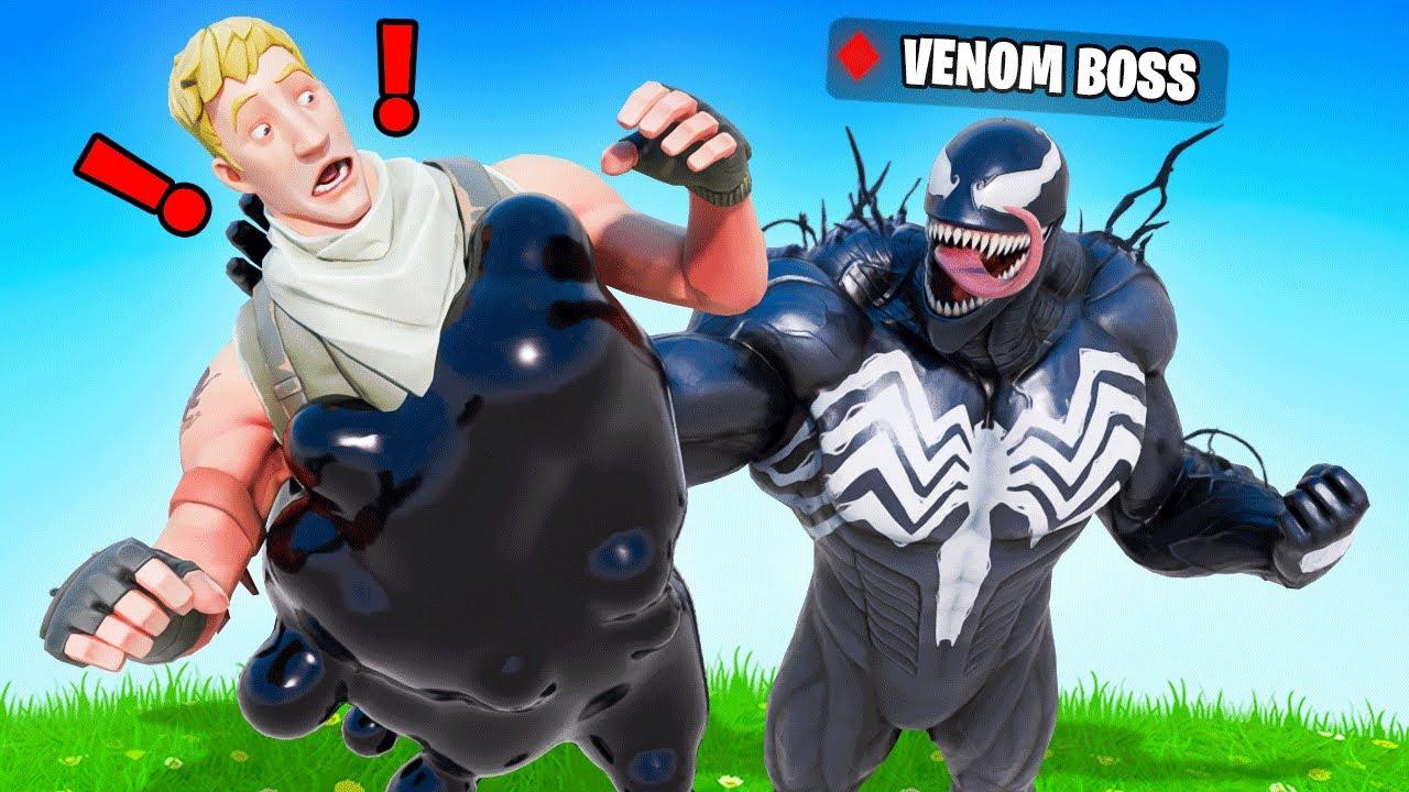The VENOM *BOSS* Challenge in Fortnite!