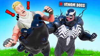 The VENOM *BOSS* Challenge in Fortnite!