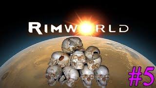 RimWorld ► Окапываемся ► #5  (Стрим)
