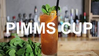 Pimms Cup Cocktail Recipe - REFRESHING!!