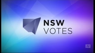 ABC - NSW Votes 2015 - Election Coverage Opener & Closer (28/3/2015)