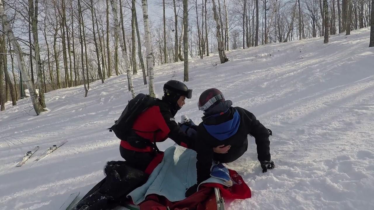 The Dartmouth Ski Patrol in Action