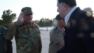 شاهد.. السراج يجتمع بـ«البنيان المرصوص» في ليبيا