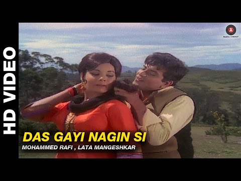 Das Gayi Nagin Si - Himmat | Mohammed Rafi & Lata Mangeshkar | Jeetendra & Mumtaz