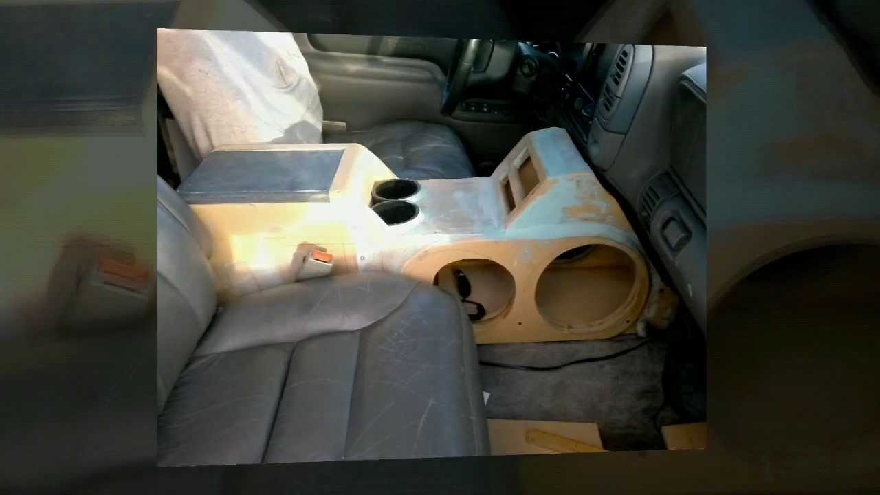 Making A New Center Console With 2 10s And 2 8s Youtube