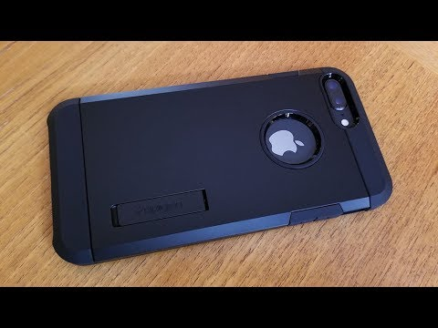 super popular 854d5 0ef6c Spigen Tough Armor Iphone 8 / Iphone 8 Plus Case Review - Fliptroniks.com