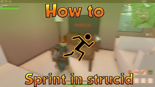 How To Sprint In Strucid Roblox Fps Unlocker By Squadden
