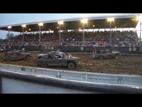 Marion County Salem Demolition Derby Heat 3 2016